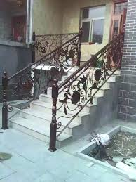 Iron Grill Design For Stairs Garden Stair Rail Nightcore Club