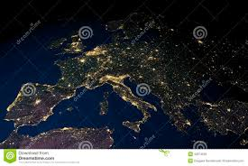 World Map At Night by Global Business People Corporate And World Map Stock Photo Image