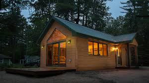 tiny cabin by dickinson homes youtube