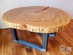 wood slice end table wood log coffee table decor tree slab trunk end thin e slice home