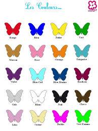 Couleurs En Anglais Francais 57 Best 3 Class Colors Les Couleurs La Poule