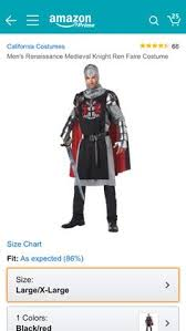 amazon black friday nerdist xbox valiant knight black silver medium california costumes http