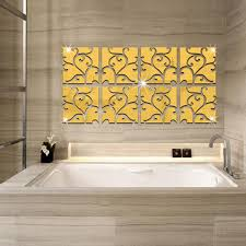 Mirror Decals For Bathrooms - popular tile bathroom walls buy cheap tile bathroom walls lots
