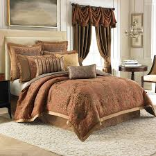 bedroom interior bedroom classic brown silk comforter set