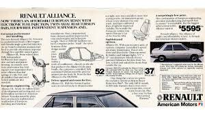 renault alliance blue 1983 the wisconsin built renault alliance is the future of the