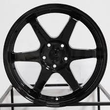 black wheels esr wheels sr07 gloss black u2013 wheels outlet