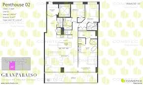 paraiso bay floor plans