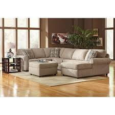 Chenille Living Room Furniture by Monarch Ii Upholstery 3 Pc Sectional Furniture Com Family