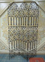 wrought iron room dividers