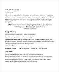 sample retail store manager resume sample retail manager resume tomu co
