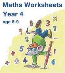 mathsphere year 4 maths worksheets