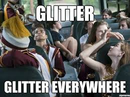 Color Guard Memes - uniforms can never not have too much glitter d guard uniforms