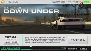 aston martin vantage 4 3 real racing 3 the 500 stage 05 goal 4 aston martin vantage gte