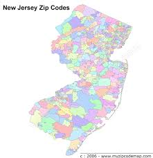 Riverside Zip Code Map by New Jersey Zip Code Maps Free New Jersey Zip Code Maps