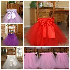 cheap chair sashes for sale 2017 luxury tutu chair skirt thick tulle custom tutu chair