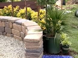 Diy Ideas For Flower Bed Walls Plants Around A Firepit Diy