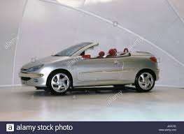peugeot 206 cabriolet 1999 peugeot 206 convertible stock photo royalty free image