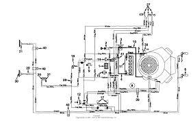 mtd 145z836p190 garden tractor gt 205 1995 parts diagram for