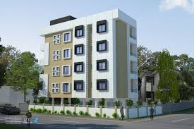 apartment building elevation aurangabad india ary studios d