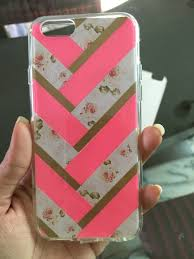 diy phone case using washi tape and scarpbook paper ringke
