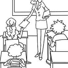 drawing lesson coloring pages hellokids com