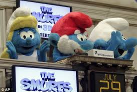 Baby Smurf Meme - the smurfs communists are accused of being communists daily mail