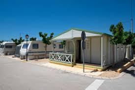 camping with mobil homes camping villamar
