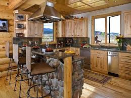 comfortable small space kitchen decors ideas rustic kitchen island