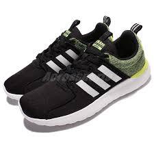 adidas cloudfoam lite racer adidas cloudfoam lite racer black yellow men running shoes sneakers