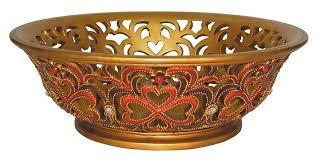 ok lighting baroque style decorative fruit bowl u0026 reviews wayfair