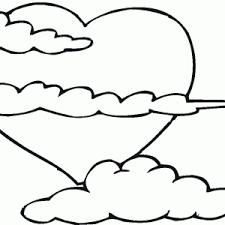 coloriage nuage coloriages autres nuages imprimer colorier