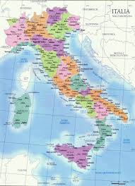 Calabria Italy Map by Detailed Regions Map Of Italy With Major Cities Italy Europe