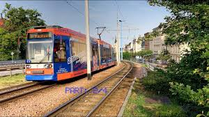 halle saale and its tram germany june 2017 part 2 4 youtube