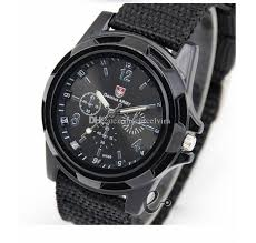 Wholesale Case Of 300 Pieces Men S Big Buck Wear - fashion mens trendy sports watches military style watch watches