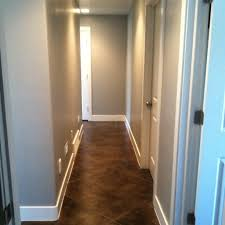 Basement Floor Stain by Best 25 Stained Concrete Flooring Ideas On Pinterest Concrete