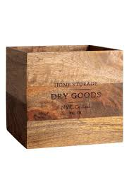 large wooden box natural home all h u0026m ca