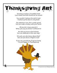 5 thanksgiving poems for kindergarten childrens