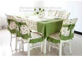 green chair covers brand new green stylish fabric tablecloth and chair cover set for