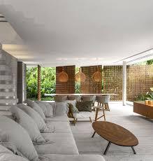 interior design minimalist home modern tropical minimalist house by studio mk27 interiorzine