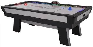 used coin operated air hockey table atomic 90 top shelf air hockey table game world planet