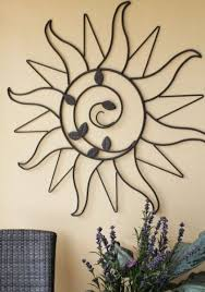 outdoor wall art ideas to decorate your space exist decor