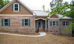 ranch homes brick ranch home waxhaw custom homes palmer custom builders