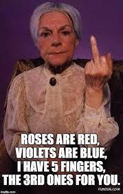 Grandma Meme - middle finger grandma meme generator imgflip
