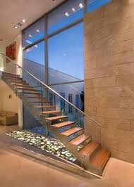 Modern Glass Stairs Design Glass Or Wire For Coming Down The Stairs Penthouse Apartment 1 By