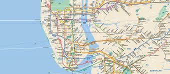 Brooklyn College Map New York Subway Animals On The Underground