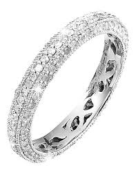 white gold eternity ring 9ct white gold 3 4ct eternity ring marisota