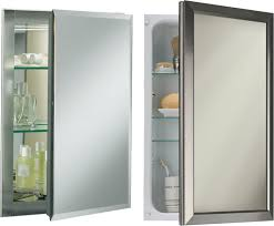 frameless mirrored medicine cabinet recessed bathroom medicine cabinet mirror replacement for recessed cabinets