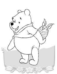 pooh heffalump coloring
