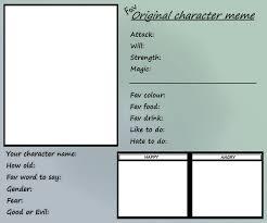 Character Memes - fav original character meme by joakaha on deviantart