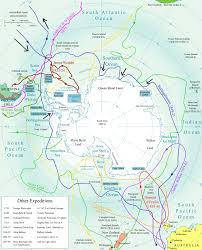 Air New Zealand Route Map by Mikhail Lazarev Antarctic Logistics U0026 Expeditions